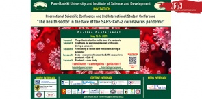 International Scientific Conference and 2nd International Student Conference at the University of Powislanski, Poland